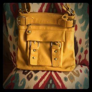 Handbags - Golden yellow purse
